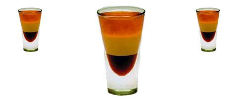 Comment faire un cocktail à plusieurs étages de couleurs différentes ?